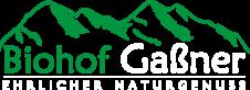 Logo Biohof Gaßner